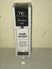 NEW Woodwick Aroma Oil 0.5 Oz. - ISLAND COCONUT--Buy Multiple & Save! 0404A