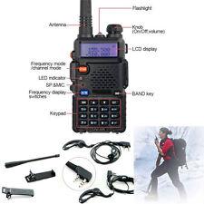 Hot Portable UV-5R Dual-band Handheld Alarm VHF/UHF TwoWay Ham Radio Transceiver