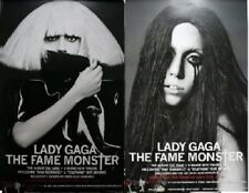 LADY GAGA The Fame Monster DOUBLE SIDED MUSIC POSTER