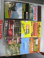 AF647-3# Kataloge Märklin,Noch,Bemo,Lima,Brawa,Vollmer,Schneider,Herkat etc.
