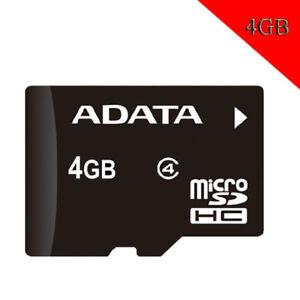 4GB CLASS 4 Original ADATA MicroSD TF SDXC Mobile Memory Card Phone Wholesale