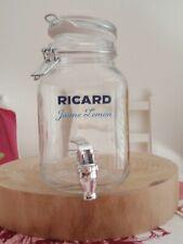 KIT JARRE LEMON RICARD ( jarre + 6 verres)