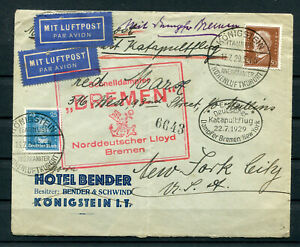 DR Katapultflugbrief 1929 ...............................................2/12988