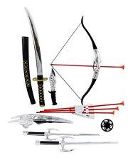 Ninja Warrior Bow & Arrow Archery Set for Kids with Katana Sword and Toy Weap...