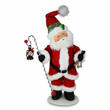 Annalee Dolls 2021 Christmas 9in Evergreen Santa Plush New with Tag