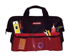 "NEW w/Tags Craftsman 18"" inch Wide-Mouthed Tool Bag Pouch Carrying Case Tote"