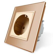 Enchufe Cristal Oro 1 compartimento vl-c7c1eu-13 LIVOLO