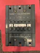 York Abb 024 31110 000 Contactor 140 Amp 600v 3 Ph 110 120v Coil 75hp 480v 3ph