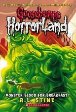 NEW Monster Blood for Breakfast! (Goosebumps HorrorLand, No. 3) by R.L. Stine