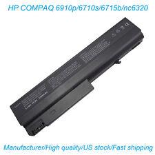 Laptop Battery for HP Compaq 6510b 6515b 6710b 6710s 6715b 6715s 6910p nc6100 US