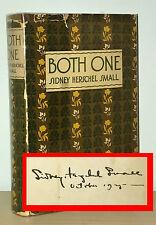 Sidney Herschel Small - Both One - SIGNED 1st 1st 1925 - California Novel - NR