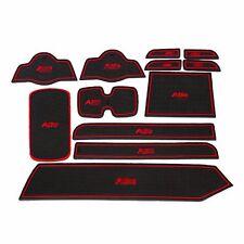 For Suzuki Alto 2009-2014 Non-Slip Interior Door Slot Cup Holder Mat Pad Rubber