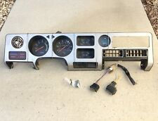 INSTRUMENT CLUSTER, with Cover and 2-Switches, used, 1980 Toyota Celica Liftback