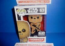 Star Wars Smuggler's Bounty Flocked Chewbacca #63 Funko POP! Figure - Bobblehead