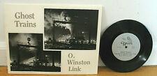 O Winston Link Ghost Trains Railroad Locomotives Photographs 33 RPM Record PB