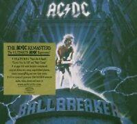AC/DC 'BALLBREAKER' CD SPECIAL DIGIPACK REMASTERS NEU