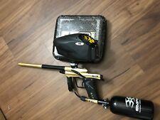 GOLD *rare* Planet Eclipse Etek 4 Paintball Marker + gear