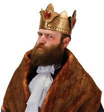 King Royal Renaissance Medieval Viking Deluxe Men Costume Crown