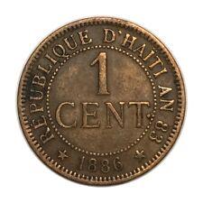 HAÏTI 1 CENT 1886 A