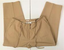 Liz Claiborne Womens Pants Trousers 22WP Michaela Petite Comfort Waist Beige Tan