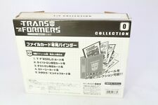Transformers G1 Reissue Collection Takara Japan Binder (From Optimus Prime)