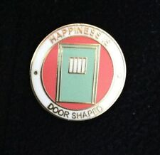 Prison Detention Custody Correction Officer pin badge HMP Service Jail Happiness