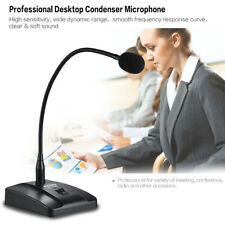 Wired Desktop Condenser Microphone Cardioid for Broadcast Conference M0I5