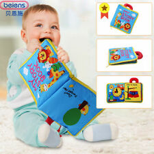 Ultra Soft Baby Cloth books Touch feel 3D Books Learning&Identify Skill Educate