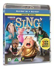 Sing 3D + 2D  Blu Ray (Region Free)
