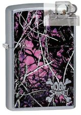 Zippo 29591 Moon Shine Camo Muddy Girl Lighter with PIPE INSERT PL