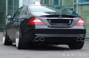 Mercedes CL Muffler nozzles oval Mercedes CLS class muffler tips exhaust pipe