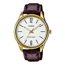 Reloj Analogico CASIO MTP-V005GL-7B - Correa De Cuero Marron