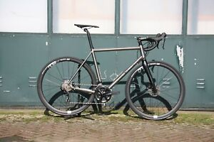 J.Guillem Major Disc 2020 Titanium Road Complete Bike