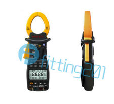 MS2203 MASTECH 3Phase Clamp Meter Power Factor Correction USB True-RMS 4Wire Tes