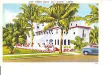 Lake Worth, FL    Gulf Stream Lodge Hotel  1940s