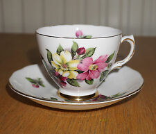 Vintage Ridgway Potteries COLCLOUGH Bone China Cup & Saucer E6/7875 (?)