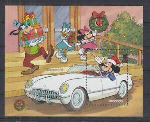 S834. Redonda - MNH - Cartoons - Disney's - Cars - Corvette