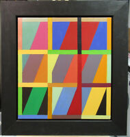 "John Havens Thornton '83 Abstract ""Juliet"" Listed Massachusetts New York School"
