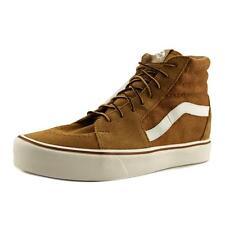 Vans SK8-Hi Lite Men US 12 Brown Skate Shoe