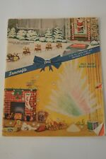 Bancroft's Vintage 1961 Christmas Gift Guide Catalog MCM Advertising Home
