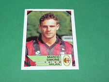 185 MARCO SIMONE AC MILAN PANINI FOOTBALL CALCIATORI 1993-1994 CALCIO ITALIA