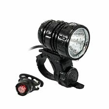 DEL Bike Light Set USB Rechargeable Vélo Feux Lumineux 1200 lm avant