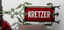 VINTAGE ANTIQUE KRETZER WEATHERVANE ARROW WITH RUBY RED GLASS - SUPERB