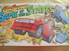 Geosafari Game of the States Education Board Game -  Collectible Sealed