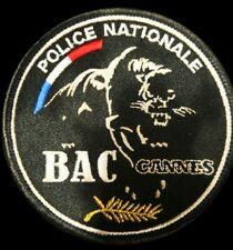 écusson police Bac Cannes