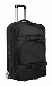 CHIEMSEE Premium Travelbag Trolley Reisetasche Tasche Deep Black Schwarz Neu
