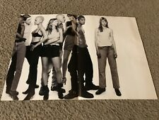 Vintage 1994 KATE MOSS CALVIN KLEIN ONE Poster Print Ad 1990s Model Designers