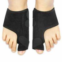 2 Pcs Big Toe Splint Straightener Corrector Hallux Valgus Foot Pain Relief UK