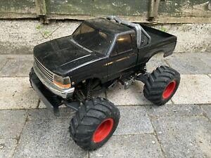 King Blackfoot Tamiya Vintage Rolling Chassis RC Radio Monster Truck