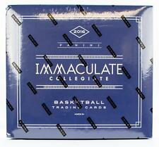 2016-17 PANINI IMMACULATE COLLECTION COLLEGIATE BASKETBALL HOBBY BOX